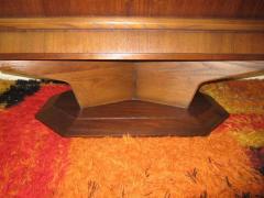 Fabulous Mid century Modern 3 dimensional Walnut tall Dresser Danish - 1877347