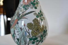 Famille Rose Porcelain Lamps - 1899798