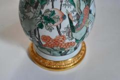 Famille Rose Porcelain Lamps - 1899801