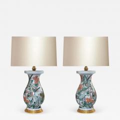 Famille Rose Porcelain Lamps - 1902034