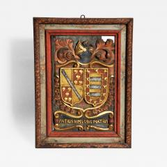 Family Crest from a Chateau in France - 749218