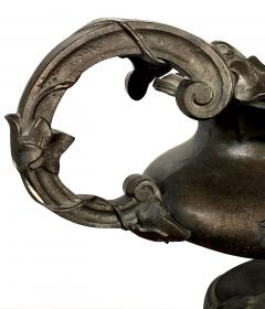 Fanciful Pair of French Art Nouveau Iron Planters Jardini res - 1955658