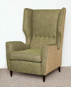 Fantastic Pair of High Back Wing Chairs - 1768147