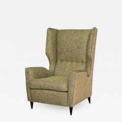 Fantastic Pair of High Back Wing Chairs - 1769189