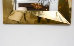 Fantastic Polished Brass Mirror - 1108697