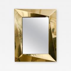 Fantastic Polished Brass Mirror - 1108845