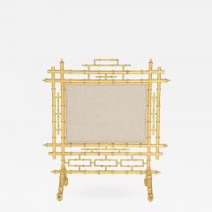 Faux Bamboo Fireplace Screen - 784554
