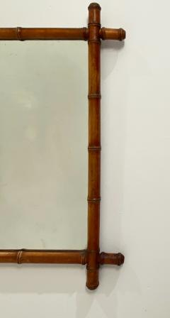 Faux Bamboo Mirror 19th Century England - 1506620