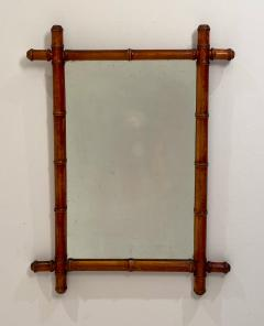 Faux Bamboo Mirror 19th Century England - 1506621