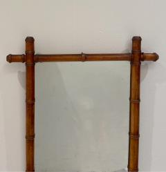 Faux Bamboo Mirror 19th Century England - 1506622