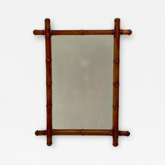 Faux Bamboo Mirror 19th Century England - 1509231