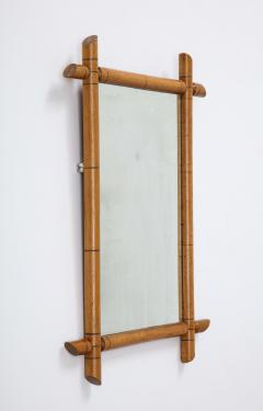 Faux Bamboo Mirror - 2060684