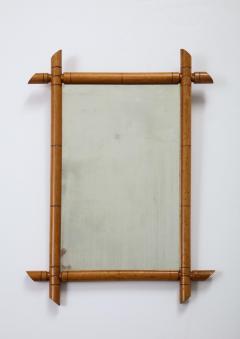 Faux Bamboo Mirror - 2060688