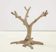 Faux Bois Bronze Tree Table Base - 1925495