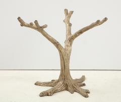 Faux Bois Bronze Tree Table Base - 1925496