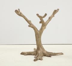 Faux Bois Bronze Tree Table Base - 1925497