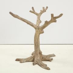 Faux Bois Bronze Tree Table Base - 1925498