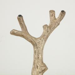Faux Bois Bronze Tree Table Base - 1925503