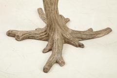 Faux Bois Bronze Tree Table Base - 1925512