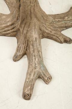 Faux Bois Bronze Tree Table Base - 1925513