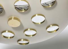 Fedele Papagni Contemporary Saucer Pendant by Fedele Papagni - 205358
