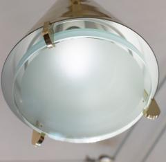 Fedele Papagni Limited Edition Brass and Glass Pendants by Papagni for Gaspare Asaro - 146730