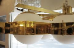 Fedele Papagni Limited Edition Flush Mount Chandelier by Fedele Papagni for Gaspare Asaro - 53542