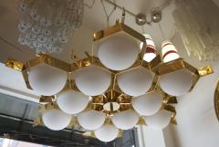 Fedele Papagni Limited Edition Flush Mount Chandelier by Fedele Papagni for Gaspare Asaro - 53543