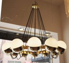 Fedele Papagni Twelve Globe Limited Edition Chandelier by Fedele Papagni for Gaspare Asaro - 83894