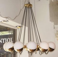 Fedele Papagni Twelve Globe Limited Edition Chandelier by Fedele Papagni for Gaspare Asaro - 83895