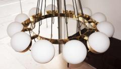 Fedele Papagni Twelve Globe Limited Edition Chandelier by Fedele Papagni for Gaspare Asaro - 83896