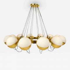 Fedele Papagni Twelve Globe Limited Edition Chandelier by Fedele Papagni for Gaspare Asaro - 84788