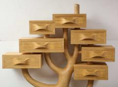 Fedele Papagni Unique Tree Chest of Drawers by Fedele Papagni - 1323148