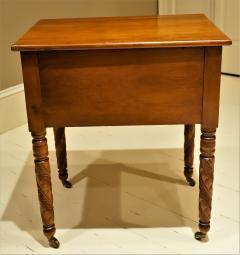 Federal Cherry and Tiger Maple Stand New York State Circa 1815 - 1686005