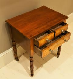Federal Cherry and Tiger Maple Stand New York State Circa 1815 - 1686009
