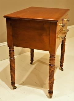 Federal Cherry and Tiger Maple Stand New York State Circa 1815 - 1686010