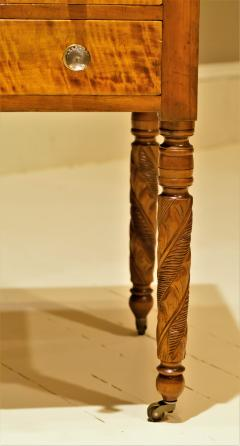 Federal Cherry and Tiger Maple Stand New York State Circa 1815 - 1686012