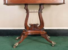 Federal Cross Lyre Card Table - 861658