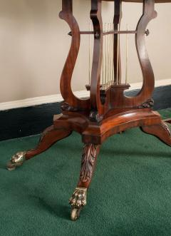 Federal Cross Lyre Card Table - 861660