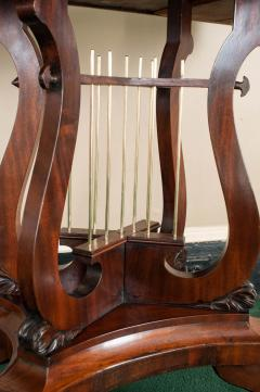Federal Cross Lyre Card Table - 861662