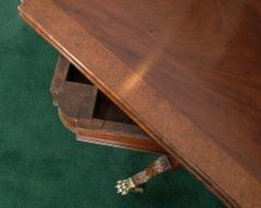 Federal Cross Lyre Card Table - 861665