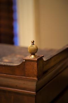 Federal Hepplewhite Secretary Bookcase Circa 1800 Mid Atlantic - 1687458