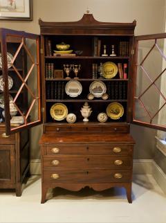 Federal Hepplewhite Secretary Bookcase Circa 1800 Mid Atlantic - 1687461