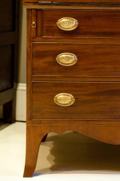 Federal Hepplewhite Secretary Bookcase Circa 1800 Mid Atlantic - 1687463