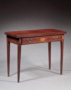 Federal Inlaid Card Table - 350082
