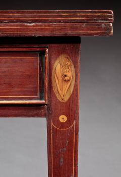 Federal Inlaid Card Table - 350083