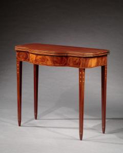 Federal Inlaid Card Table - 618295