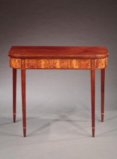 Federal Inlaid Card Table - 635184