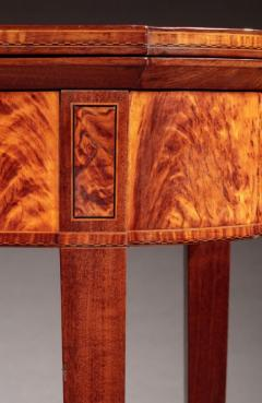 Federal Inlaid Card Table - 635185