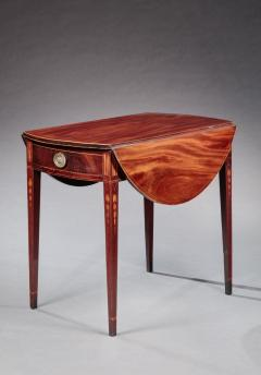 Federal Inlaid Pembroke Table - 781705